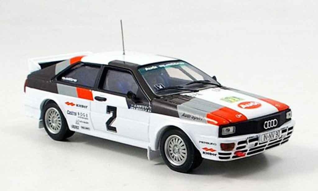 Audi Quattro 1/43 Vitesse No.2 Mikkola Sieger Rally Schweden miniature