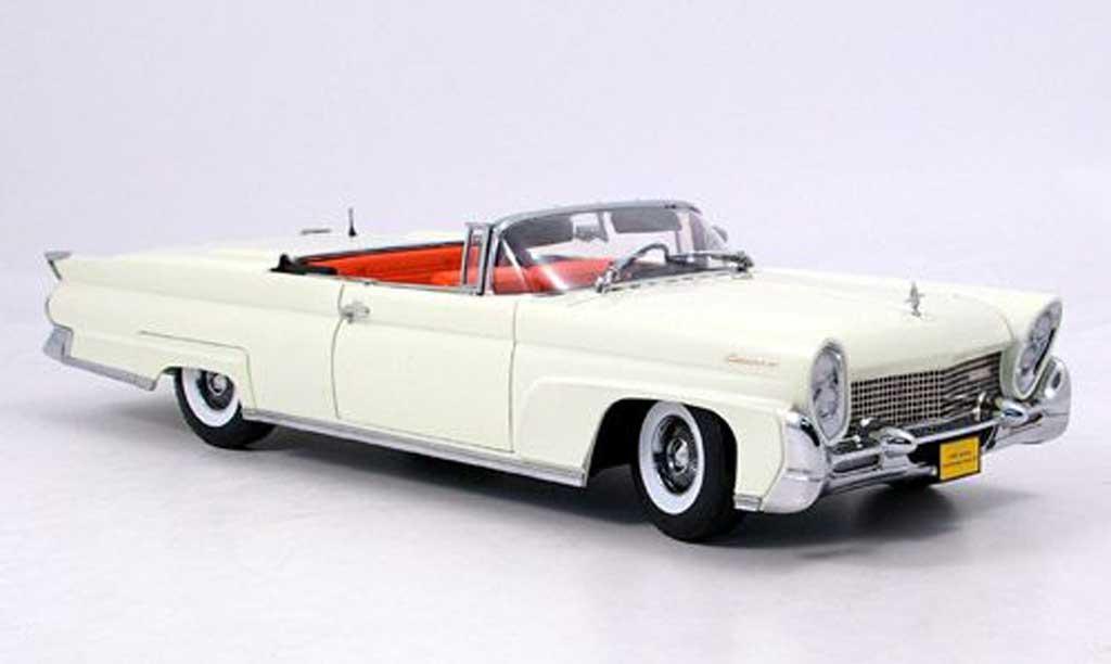 Lincoln Continental 1958 1/18 Sun Star mark iii weiss modellautos