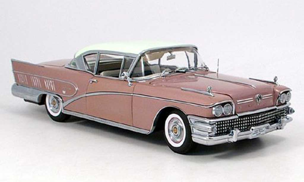 Buick Limited 1/18 Sun Star riviera lila 1958 miniature
