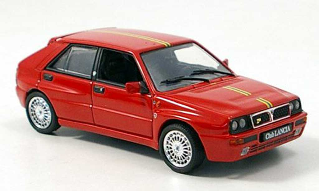 Lancia Delta HF Integrale 1/43 Norev Club rouge 1992 miniature