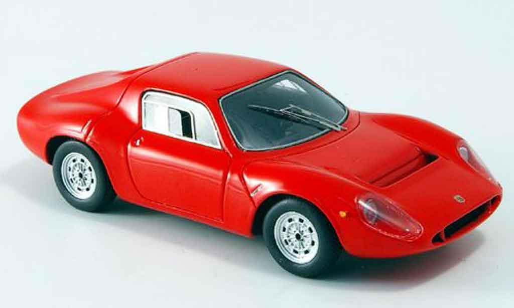 Fiat 130 1/43 Spark Abarth OT 1300 red 1966 diecast