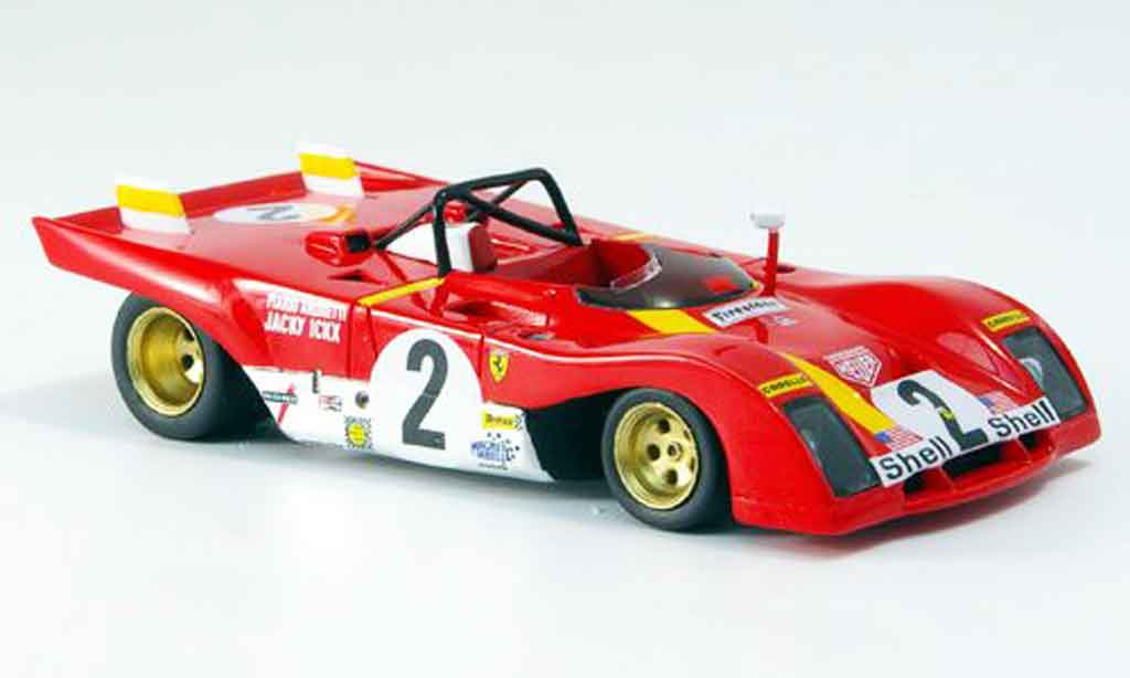 Ferrari 312 PB 1/43 Red Line no.2 daytona 1972 miniature