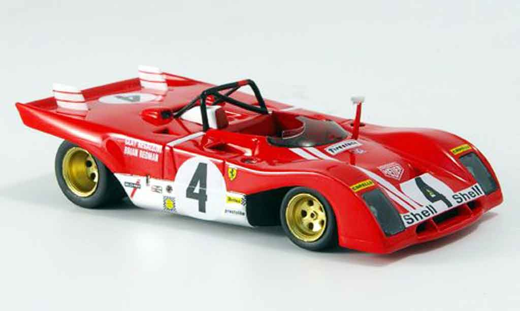 Ferrari 312 PB 1/43 Red Line no.4 daytona 1972 miniature