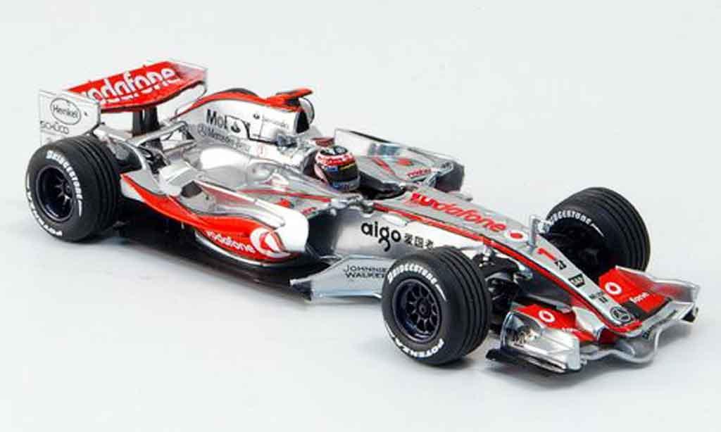 Mercedes F1 1/43 Minichamps McLaren Vodafone MP 4 22 Alonso 2007 miniature