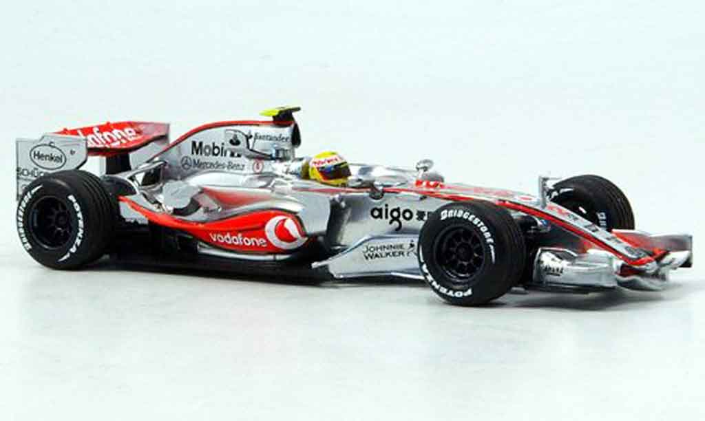 Mercedes F1 1/43 Minichamps McLaren Vodafone MP4 22 No. 2 2007 miniature