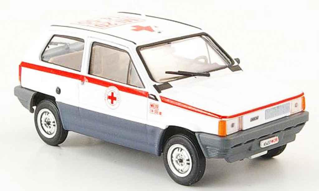 Fiat Panda 1/43 Brumm 45 rougees Kreuz Italien 1980 miniature