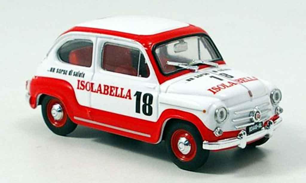 Fiat 600 1/43 Brumm D Amaro 18 Isolabella 1960 miniature