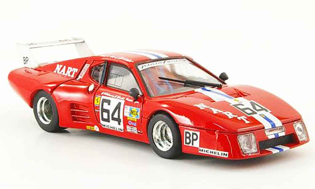 Ferrari 512 BB LM 1/43 Brumm no.64 24h le mans 1979 modellautos