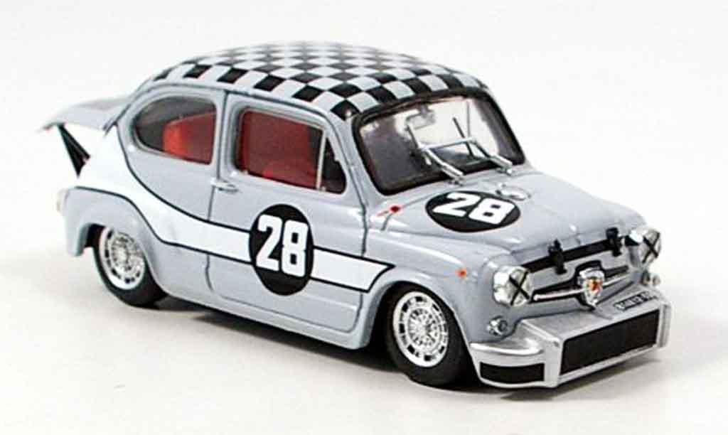 Fiat Abarth 1000 1/43 Brumm No.28 Zandvoort 1969 miniature