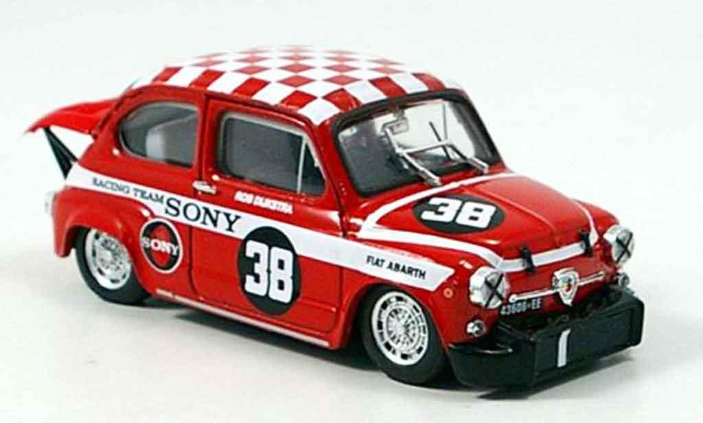 Fiat Abarth 1000 1/43 Brumm No.38 Dijkstra Sieger Zandvoort 1969 miniature