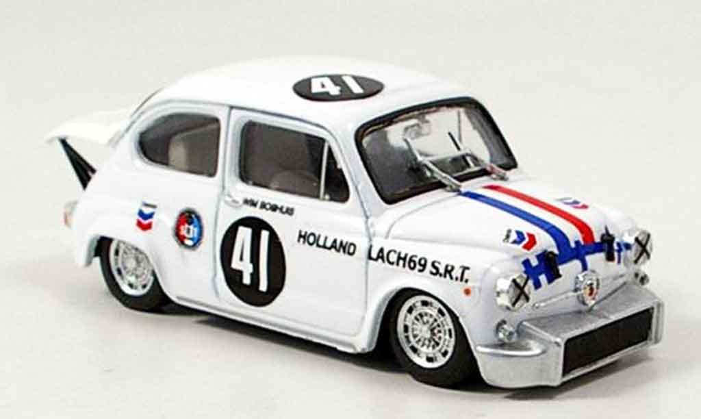 Fiat Abarth 1000 1/43 Brumm No.41 Boshuis Zandvoort 1969 miniature