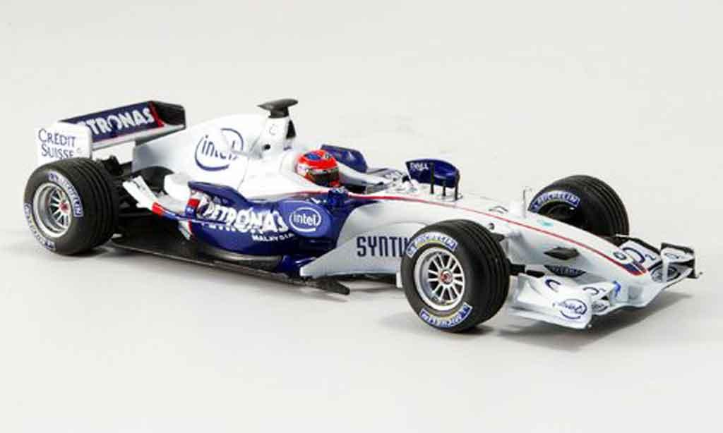 Bmw F1 2006 1/43 Minichamps Sauber Team Kubica Thanks Michael