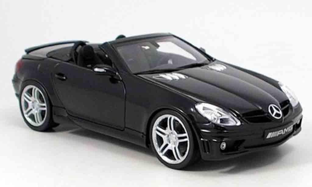 Mercedes Classe SLK 1/18 AutoProShop 55 amg verwandelbar in brabus 6.1 s miniature