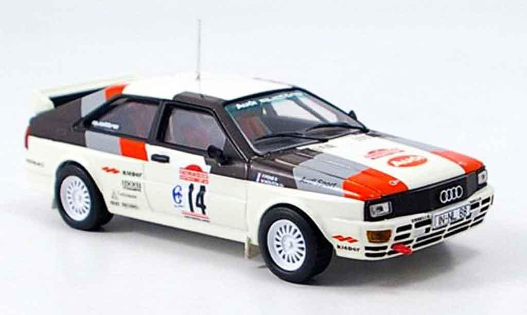 Audi Quattro 1/43 Vitesse Sieger Rally San Remo miniature