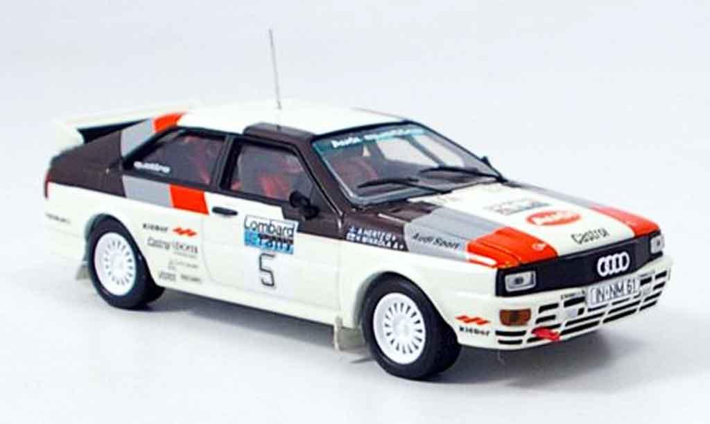 Audi Quattro 1/43 Vitesse Sieger Rally Loombard miniature