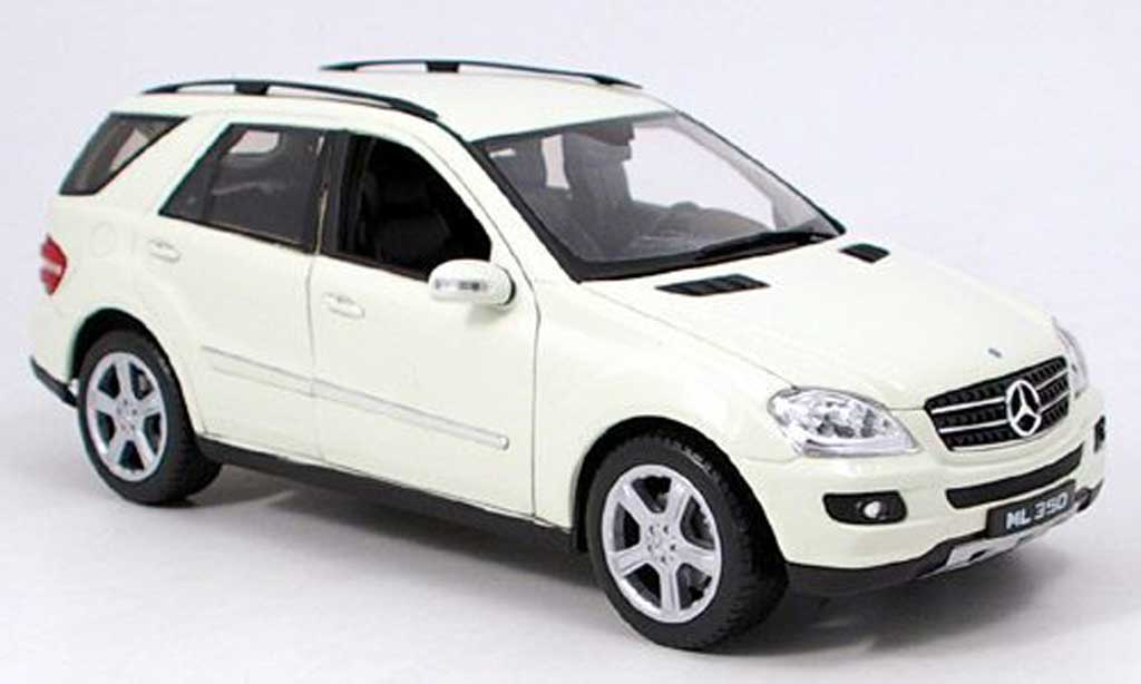 Mercedes Classe M 1/18 Welly ml350 (w164) beige miniature