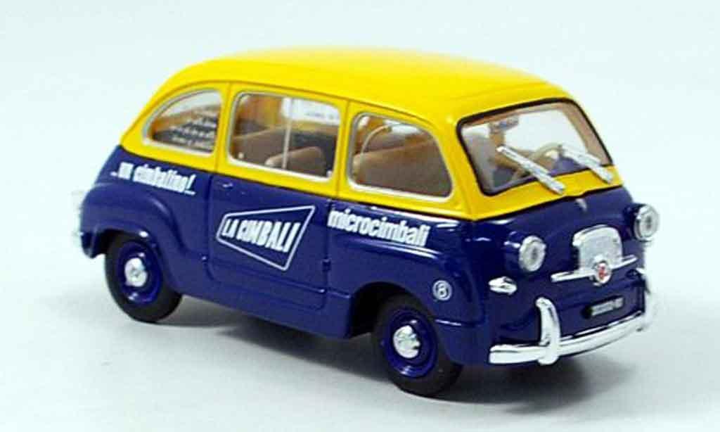 Fiat 600 1/43 Brumm Multipla Microcimbali 1960 diecast