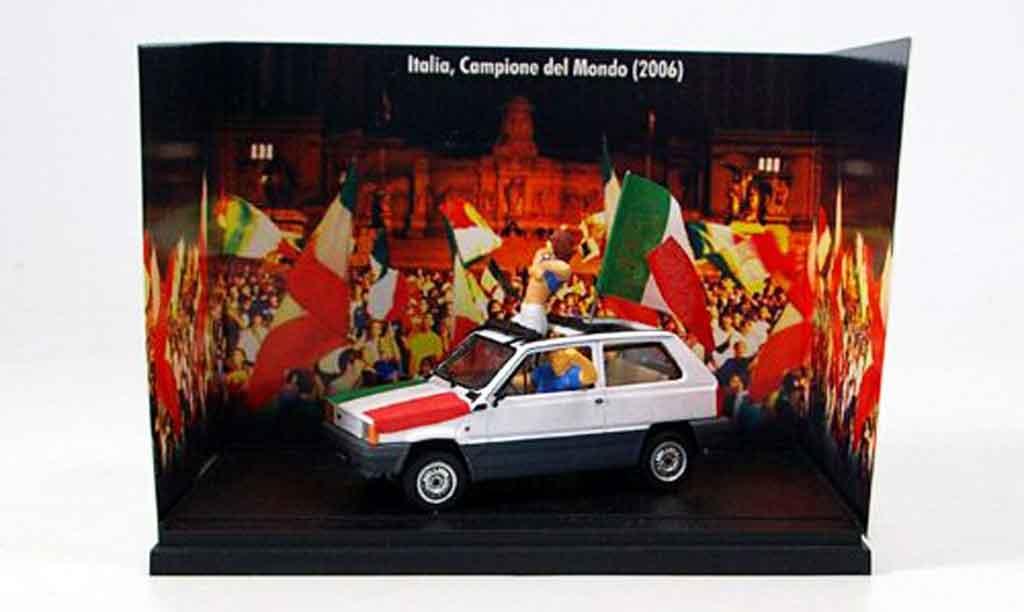 Fiat Panda 1/43 Brumm 45 Italien Weltmeister2006 Modell 1981 miniature