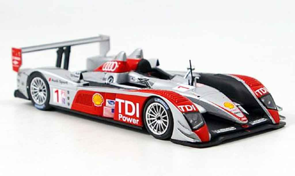 Audi R10 2007 1/43 Minichamps Sieger Sports Car Challenge miniature