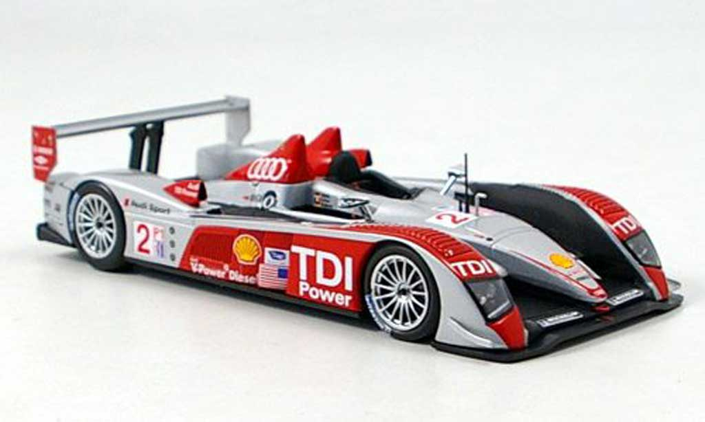 Audi R10 2007 1/43 Minichamps TDI No.2 TDI Power Sieger 12h Sebring miniature