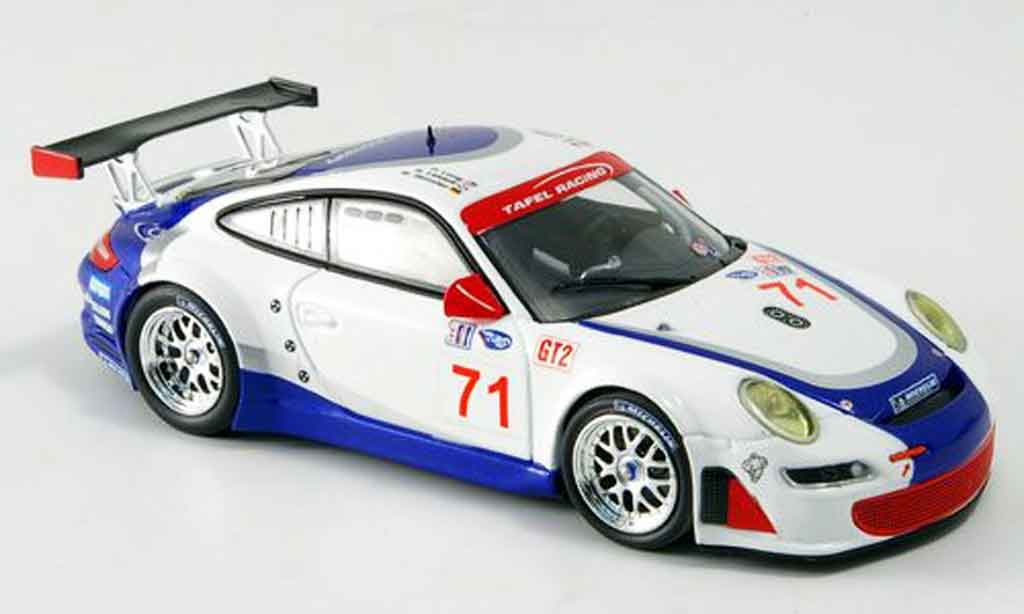 Porsche 997 GT3 RSR 1/43 Minichamps 2007 Henzler Lidell Long miniature