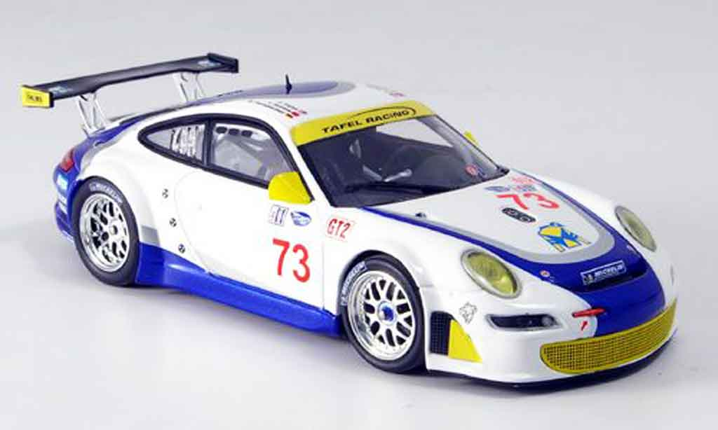 Porsche 997 GT3 RSR 1/43 Minichamps 2007 Tafel Farnbacher James