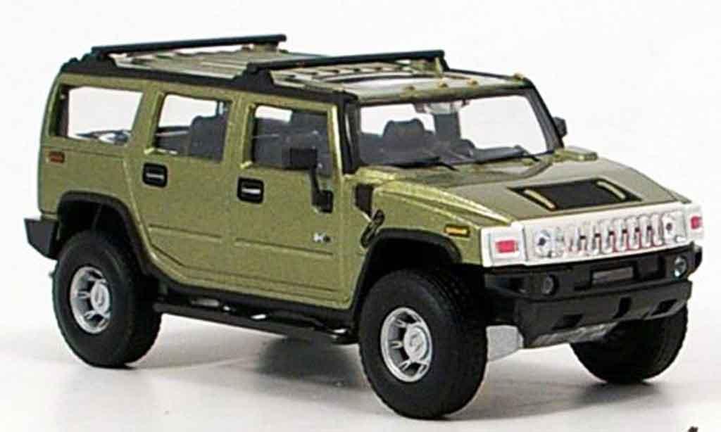 Hummer H2 1/43 Cararama grun miniature