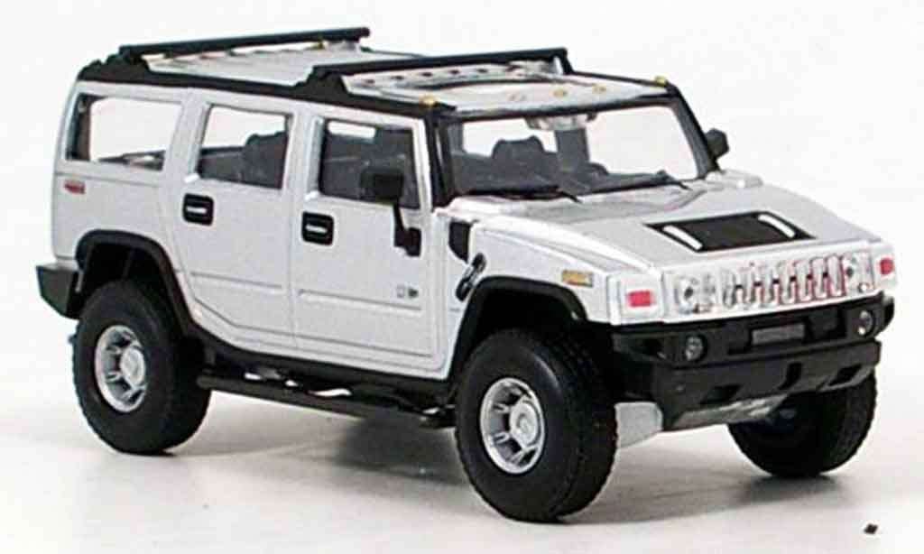 Hummer H2 1/43 Cararama grey metallisee diecast model cars