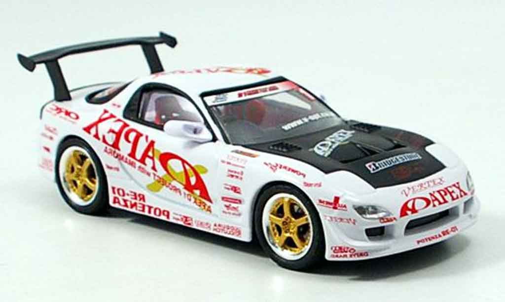 Mazda RX7 2003 1/43 Aoshima D1 Project FD3S Apex miniatura