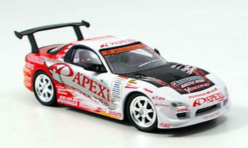 Mazda RX7 2005 1/43 Aoshima D1 Project FD3S Apex 2005 diecast