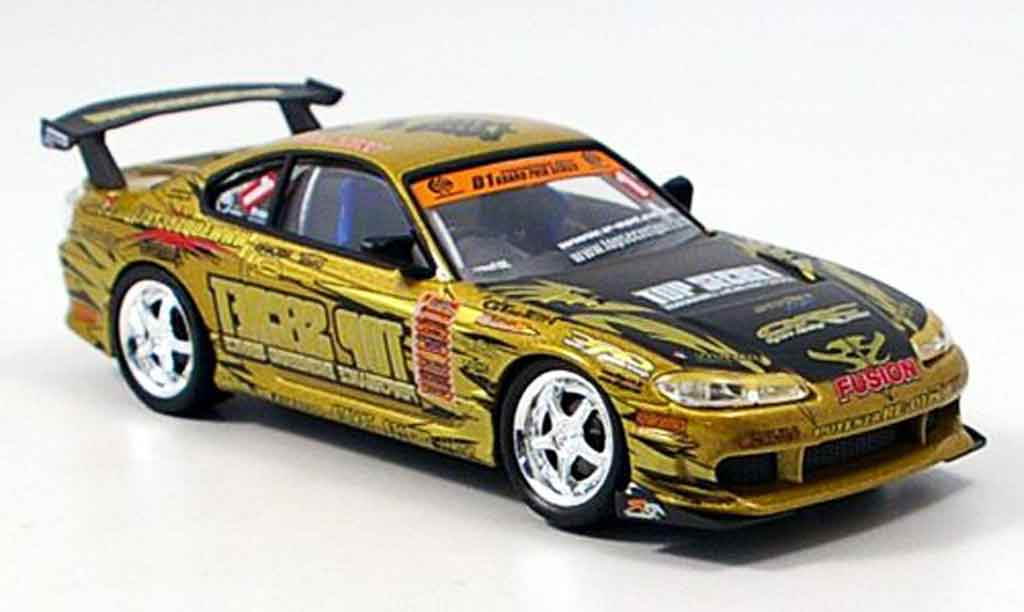Nissan Silvia 1/43 Aoshima S15 Top Secret 2004 miniature