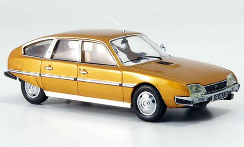Citroen CX 1/43 IXO pallas marron 1976 miniature