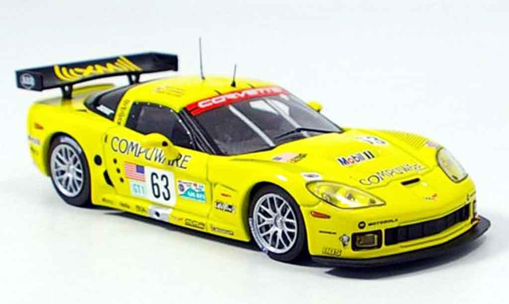 Chevrolet Corvette C6 1/43 IXO R No.63 Le Mans 2006 miniature
