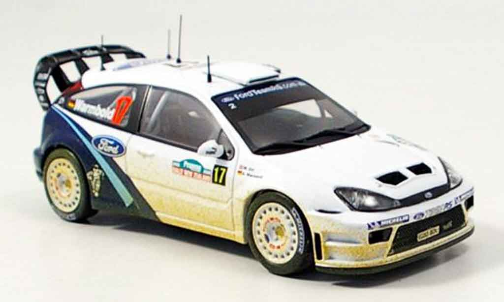 Ford Focus RS WRC 1/43 IXO No.17 Warmbold Orr Rally Neuseeland 2005 miniature