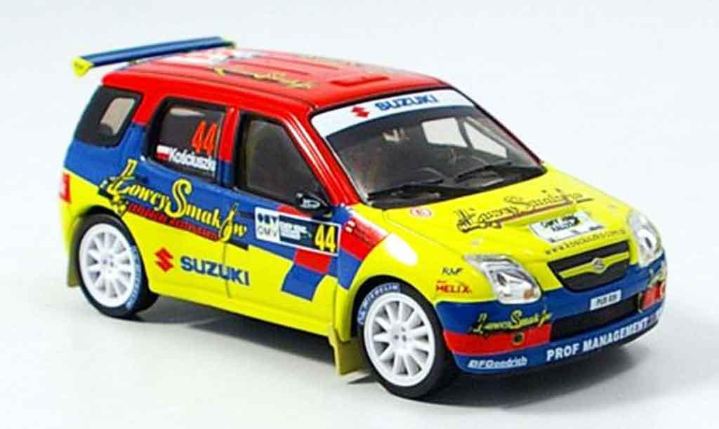 Diecast model cars Suzuki Ignis 143 IXO S1600 No.44 Rally