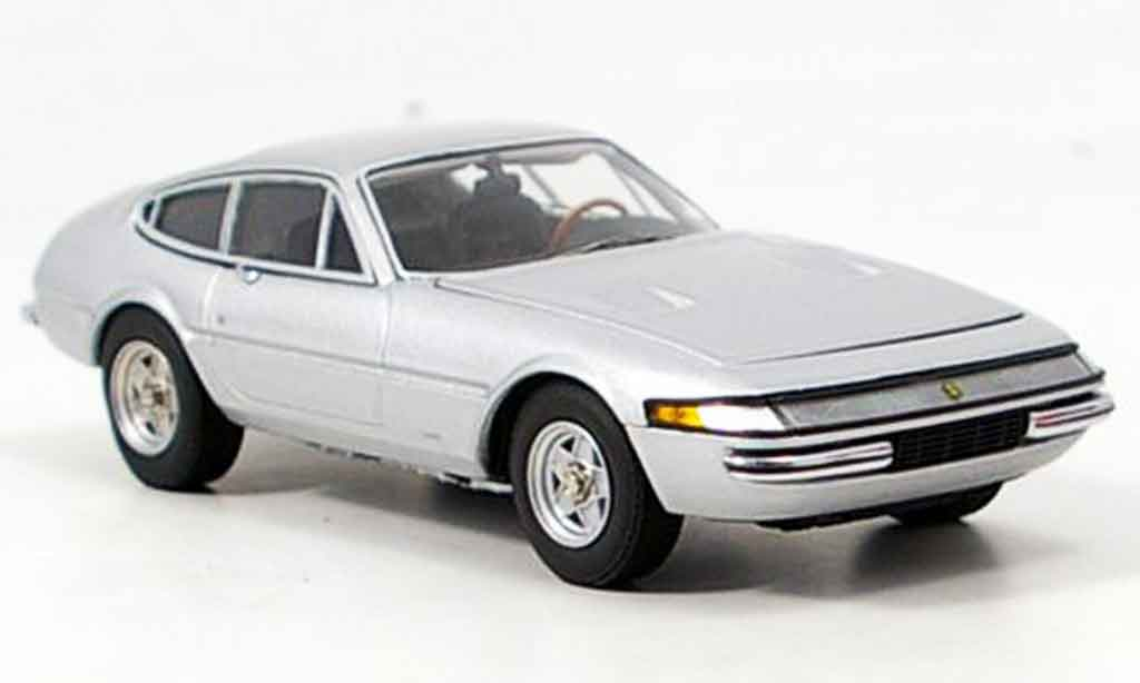 Ferrari 365 GTB/4 1/43 Kyosho daytona grey metallisee diecast model cars