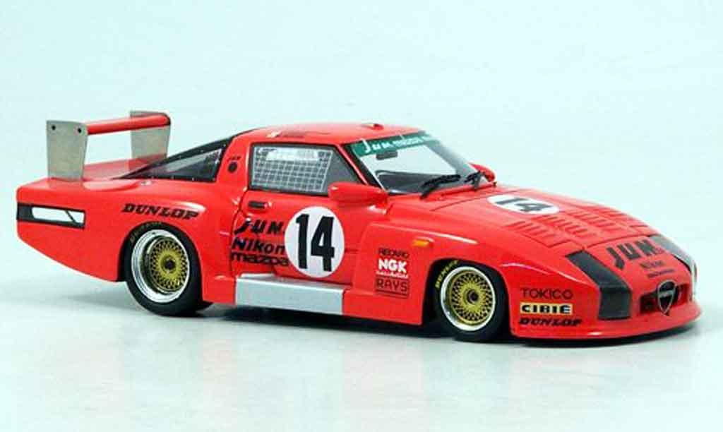 Mazda RX7 1982 1/43 Bizarre No.14 Rennen Fuji miniatura
