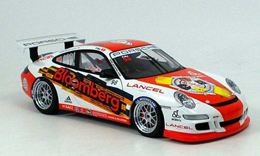 Porsche 997 GT3 CUP 1/18 Autoart GT3 Cup 2006 no.98 philip massa diecast model cars