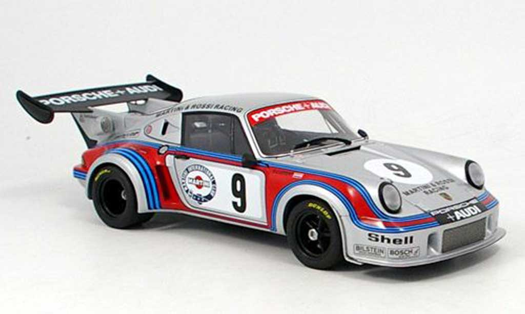 Porsche 930 Turbo 1/18 Autoart RSR carrera turbo no.9 1974 miniature