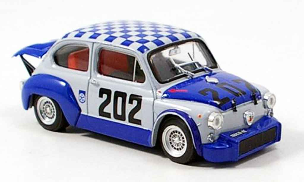 Fiat Abarth 1000 1/43 Brumm TCR No.202 Bondone 1970 miniature