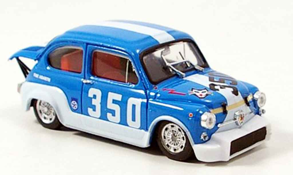 Fiat Abarth 1000 1/43 Brumm . No.350 Bondone 1971 miniature