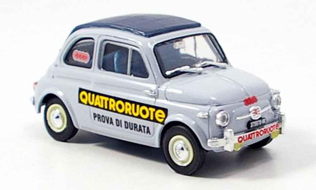 Fiat 500 1/43 Brumm Nuova Prova Di Durata Quattroroute 1958 diecast