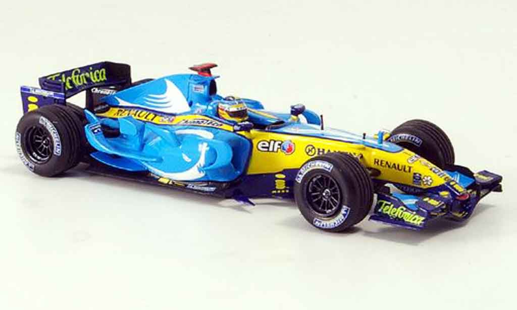 Renault F1 1/43 Minichamps f1 team r26 alonso gp frankreich 2006 miniature