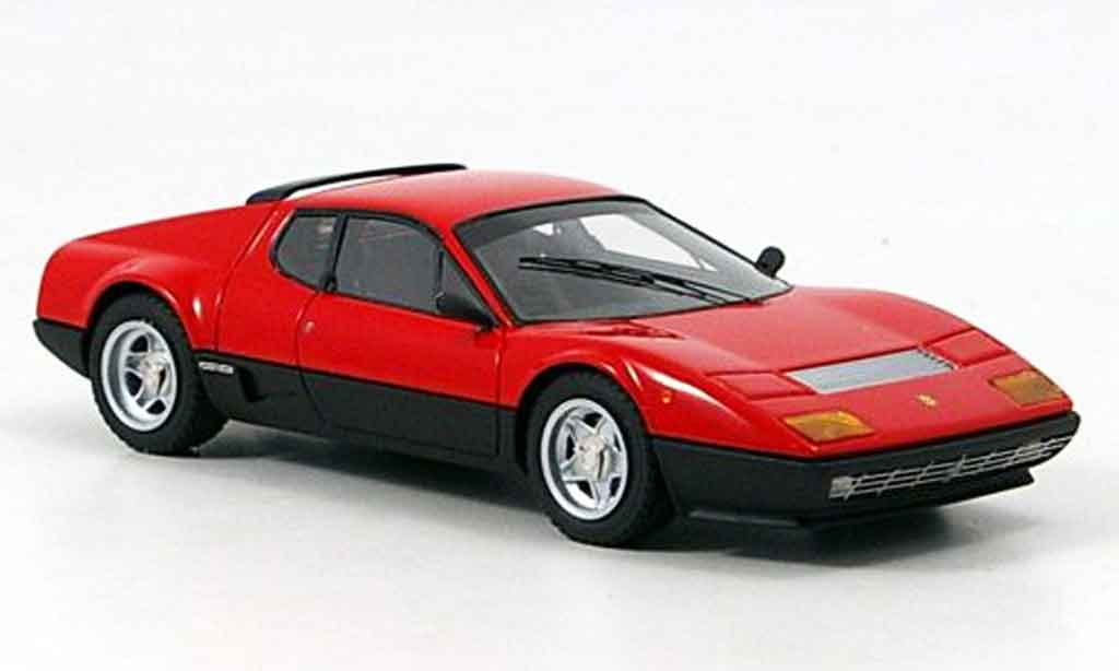 Ferrari 512 BB 1/43 Look Smart red black diecast model cars