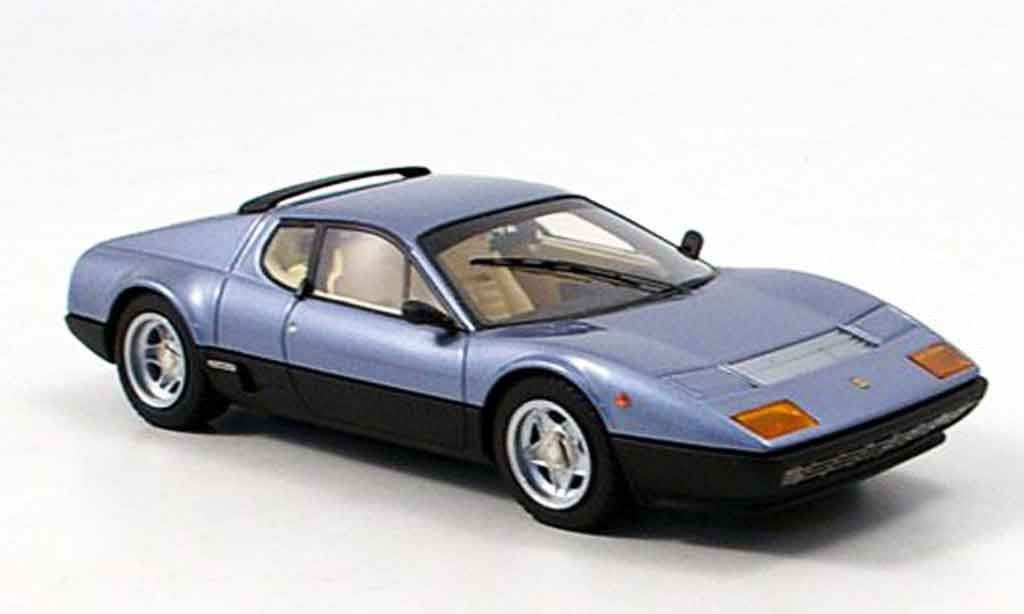 Ferrari 512 BB 1/43 Look Smart bleu black diecast model cars