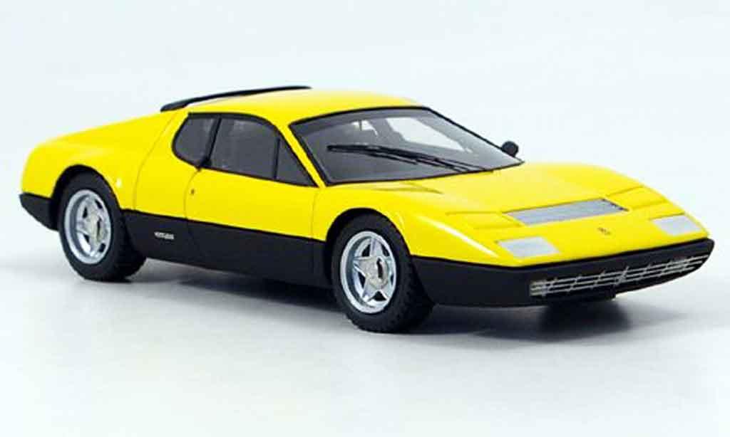 Ferrari 365 GT4/BB 1/43 Look Smart jaune noire miniature