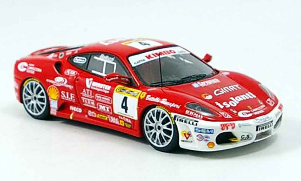 Ferrari F430 Challenge 1/43 Look Smart no.4 team motor 2006 miniature