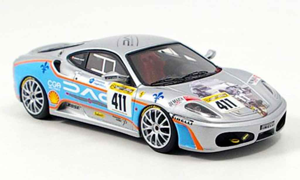 Ferrari F430 Challenge 1/43 Look Smart no.411 team shelton 2006 miniature