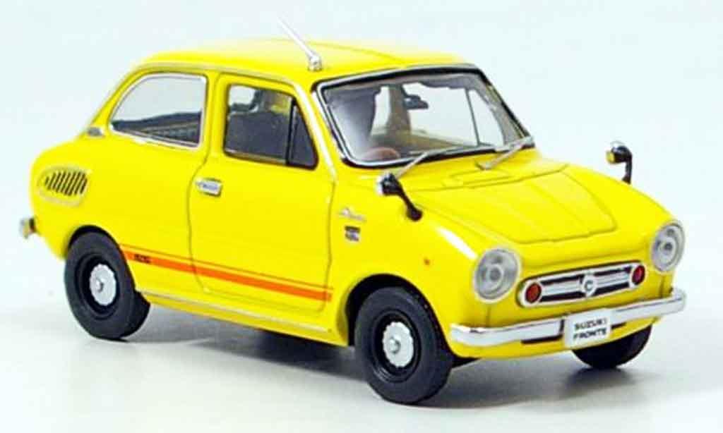 Suzuki Fronte 1/43 Ebbro SS jaune 1968