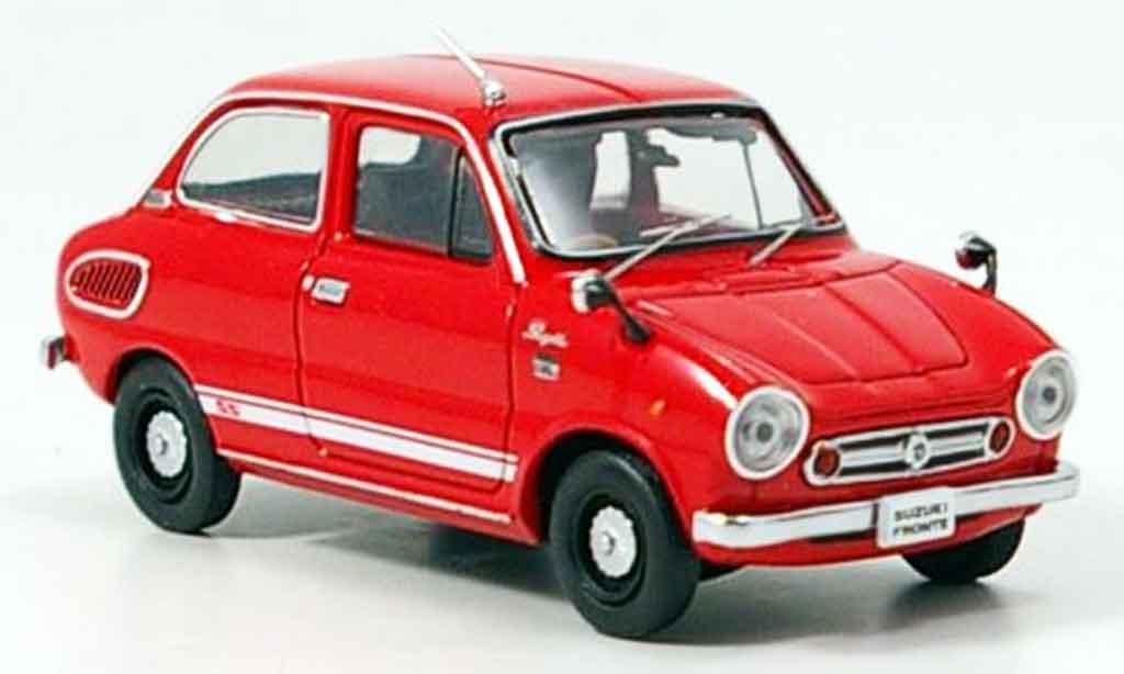 Suzuki Fronte 1/43 Ebbro SS rouge 1968 miniature